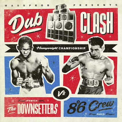 8°6 Crew/The Downsettters : Split LP