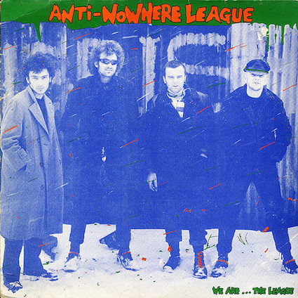 Anti Nowhere League : We are the League LP