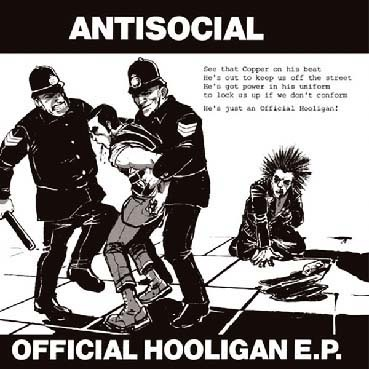 Antisocial : Official Hooligan EP