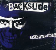 Backslide : Terrorage CD