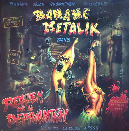 Banane Metalik: Requiem de la depravation CD