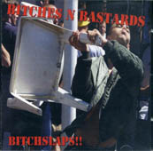 Bitches'n'bastards : Bitchslaps CD