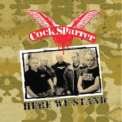 Cock Sparrer : Here we stand LP+CD+DVD