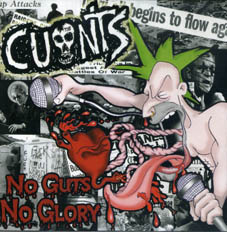 Cunts/ The Lobotomies : split CD
