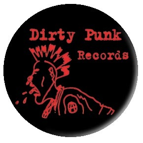 Dirty Punk red with black background