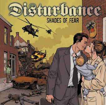 Disturbance : Shades of fear LP