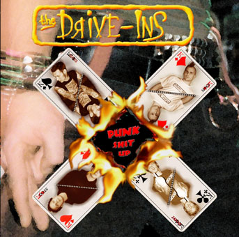 Drive-Ins (the) : Punk shit up CD