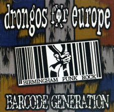 Drongos for Europe : Barcode generation CD