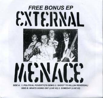 External Menace: Bonus EP