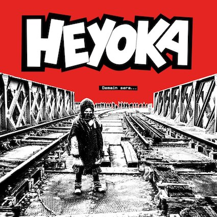 Heyoka: Demain sera LP (red sleeve)