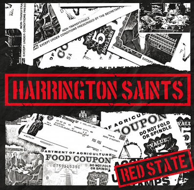 Harrington Saints : Red state 7""