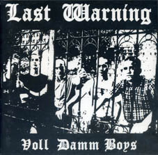 Last warning : Voll damm boys CD