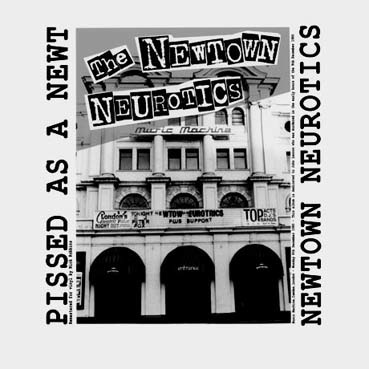 Newton Neurotics: Pissed as a newt LP