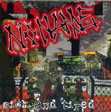 Noname : Sick and tired CD