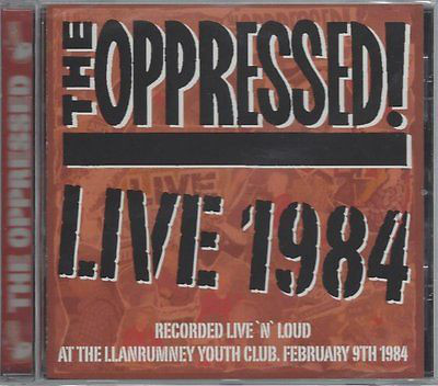 Oppressed (The): Live 84 CD