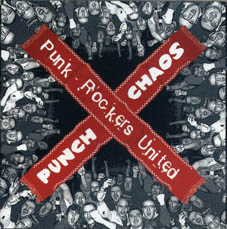 Punch Chaos : Punkrockers united CD