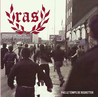 R.A.S.:Pas le temps de regretter LP (clear vinyl)