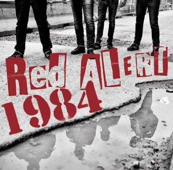 Red Alert/1984: Split 10'' (Red vinyl/100 copies)