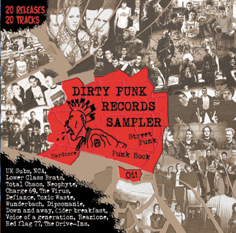 Dirty Punk records sampler CD