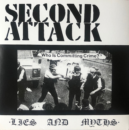 Second Attack : Lies and Myths 7''