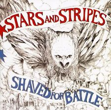 Stars & stripes: Shaved for battle LP (Vinyl noir)