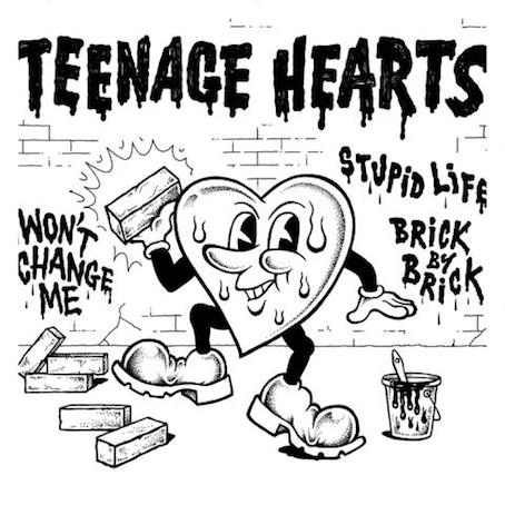 Teenage Hearts : Won't change me EP