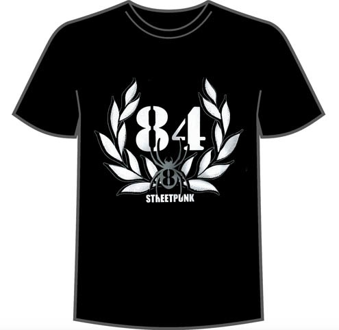 "1984 ""Streetpunk"": Tshirt Girly L"