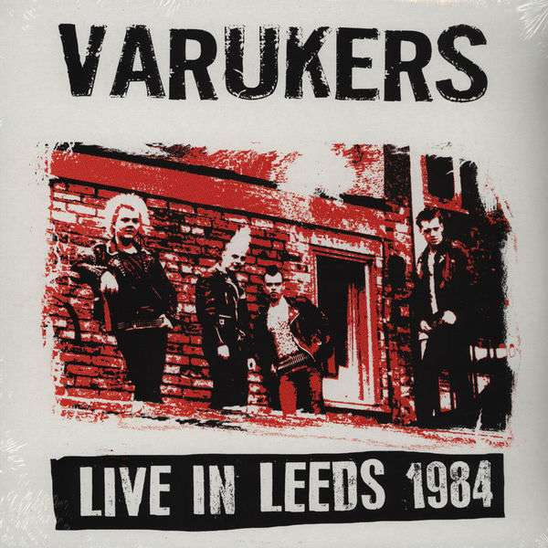 Varukers: Live in Leeds LP