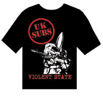 UK Subs: Violent State LARGE